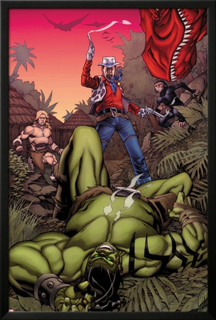 Skaar: King of The Savage Land No.3 Cover: Skaar, Ka-Zar, Moon Boy Photo by Chris Stevens