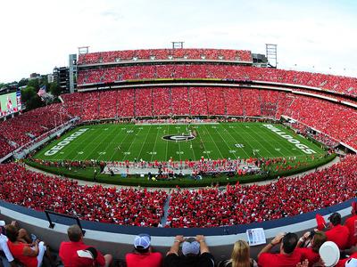 Georgia: Sanford Stadium Photographic Print by Scott Cunningham