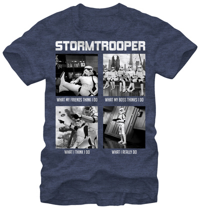 Star Wars- What a Troopers Does T-shirts