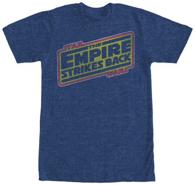 Star Wars- Empire Strikes Back Logo T-shirts