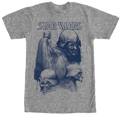 Star Wars- Vader Prototype Sketches Shirts