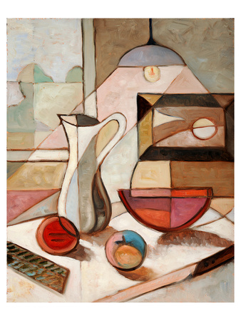 Pitcher Fruits Still Life Posters