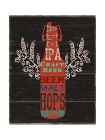 Old Style Ale Bottle Posters by Sam Appleman