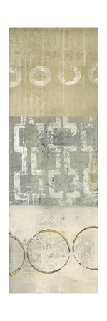 Circle Square Panel 3 Prints by Donna Becher