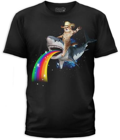 Bucking Sharkaroo Shirts