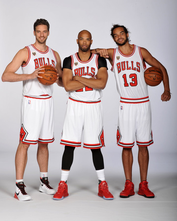 Chicago Bulls Media Day Photo by Randy Belice