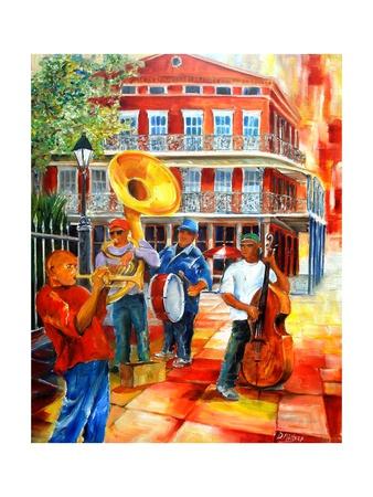 Big Easy Beat Prints by Diane Millsap