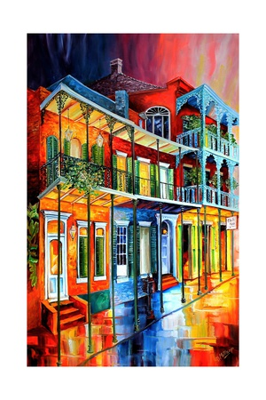 Colors of the Vieux Carre Posters by Diane Millsap