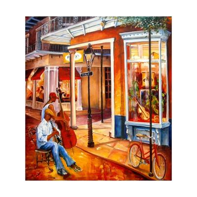 Jazz on Royal Street Poster by Diane Millsap