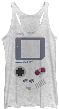 Juniors Tank Top: Game Boy- Old School Tank Top