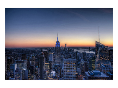 From the Top of the Rock NYC Prints