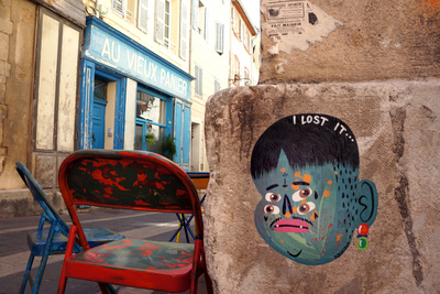I lost it - Marseille, Le Panier Photographic Print by  KASHINK