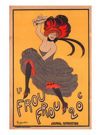 Le Frou Frou Journal Humorique Posters