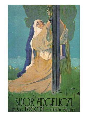 Puccini Opera Suor Angelica Art