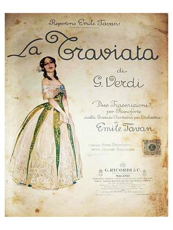 Verdi Opera La Traviata Prints