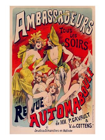 Revue Ambassadeurs Automaboule Prints