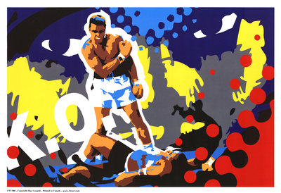 Ali Poster by Ray Lengelé