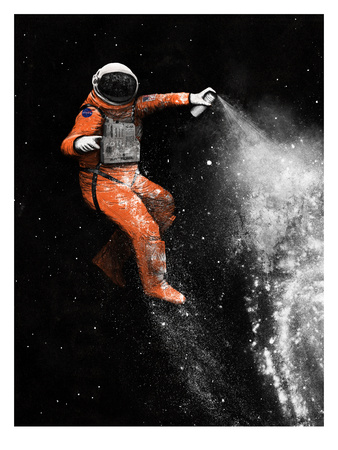 Astronaut Posters by Florent Bodart