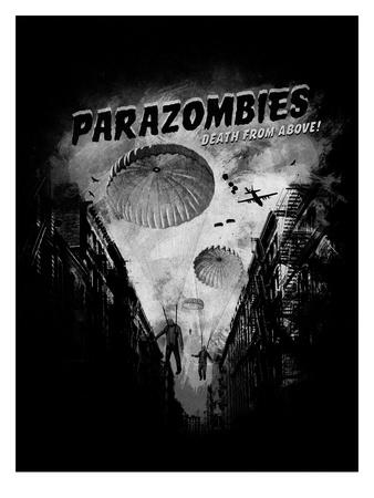 Parazombies Prints by Florent Bodart