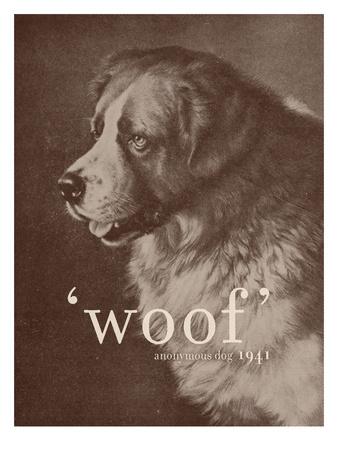 Famous Quote Dog Art by Florent Bodart