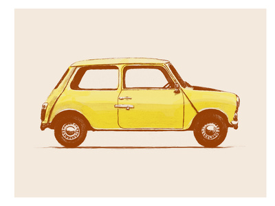 Mini Mr Beans Posters by Florent Bodart