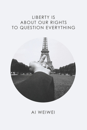 Eiffel Tower Photo by Ai Weiwei