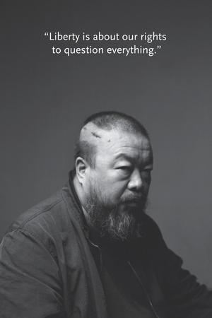 Portrait BW 2 Photo by Ai Weiwei