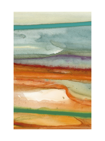 Sunset Splash A Metal Print by Tracy Hiner