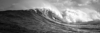 Surfer in the Sea, Maui, Hawaii, USA 写真プリント : パノラミック・イメージ(Panoramic Images)