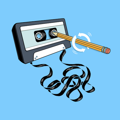 Back in the Day - Retro Cassette Tape Posters by  Boots