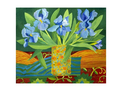 Iris, 2014 Metal Print by Jennifer Abbott