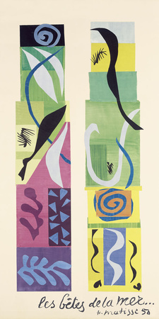 Beasts of the Sea Prints by Henri Matisse