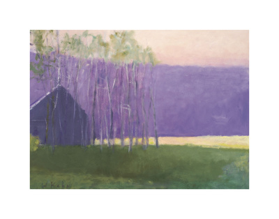 Barn in a Soft Light, 2002 Poster by Wolf Kahn