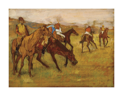 Before the Race, between 1882 and 1884 Prints by Edgar Degas