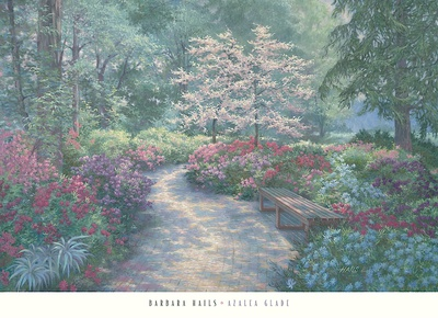 Azalea Glade Prints by Barbara Hails