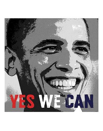Barack Obama: Yes We Can Prints