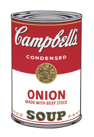 Campbell's Soup I: Onion, 1968 Giclee Print by Andy Warhol