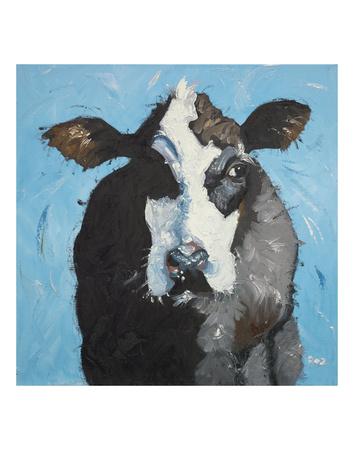 Cow 302 Prints by  Roz