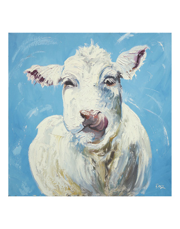 Cow 300 Prints by  Roz