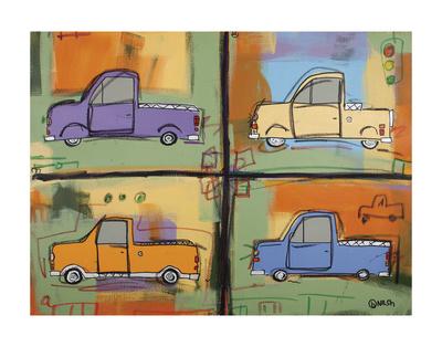 Pickups Prints by Brian Nash