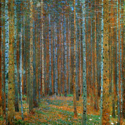 Tannenwald (Pine Forest), c.1902 Poster by Gustav Klimt