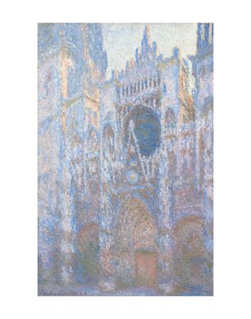 Rouen Cathedral, West Façade, 1894 Prints by Claude Monet