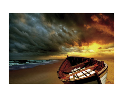 Soft Sunrise on the Beach 9 Prints by Carlos Casamayor