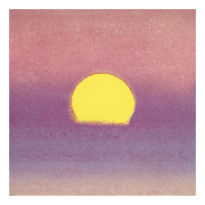 Sunset, 1972 (lavender) Prints by Andy Warhol