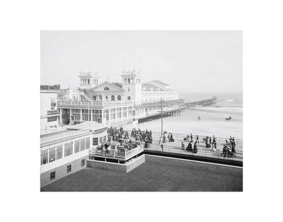 Steeplechase Pier, Atlantic City, NJ, c. 1905 Poster by  Vintage Photography