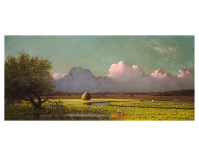 Sunlight and Shadow: The Newbury Marshes, c. 1871/1875 Posters by Martin Johnson Heade