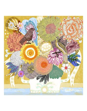Sunflowers Prints by Zhen-Huan Lu