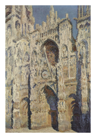The Portal and the Tour d'Albane in the Sunlight, 1984 Print by Claude Monet