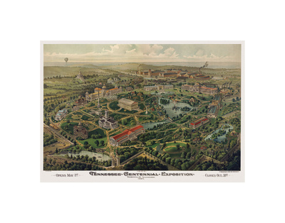Tennessee Centennial Exposition, Nashville, 1897 Prints by  Henderson Litho Co.