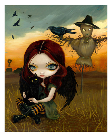 The Scarecrow Prints by Jasmine Becket-Griffith